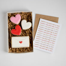 Happy Valentine's Day Card & Cookie Box Set