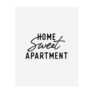 Home Sweet Apartment Art Print (New Style)