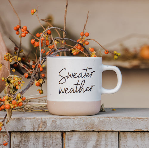 Sweater Weather Mug (Imperfect)
