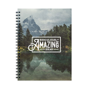 Ridiculously Amazing Ideas Notebook