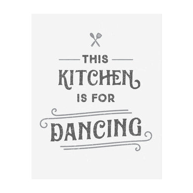 This Kitchen is for Dancing Art Print