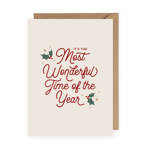 Wonderful Time of Year Card
