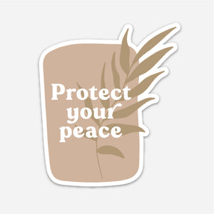 Protect Your Peace Sticker