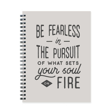 Be Fearless Notebook