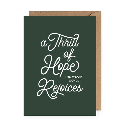 Thrill of Hope Christmas Card