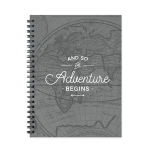 And So the Adventure Begins Travel Journal