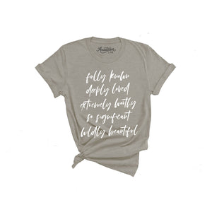 Fully Known T-Shirt - Gray