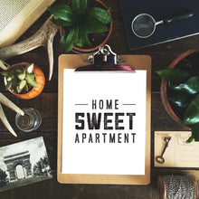 Home Sweet Apartment Art Print