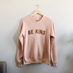 Be Kind Sweatshirt - Blush