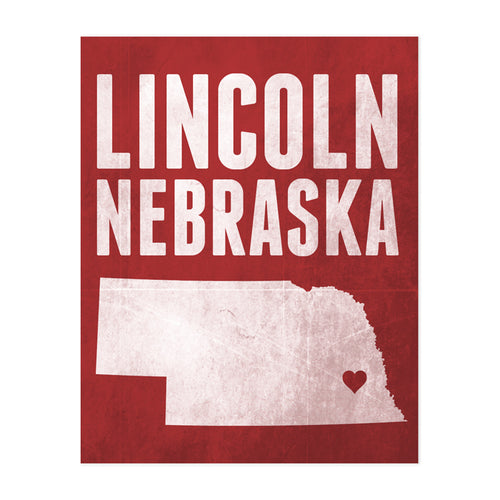 Lincoln Nebraska Art Print