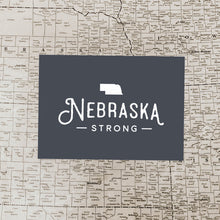 Nebraska Strong Flood Relief Donation Art Print