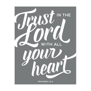 Trust in the Lord Art Print
