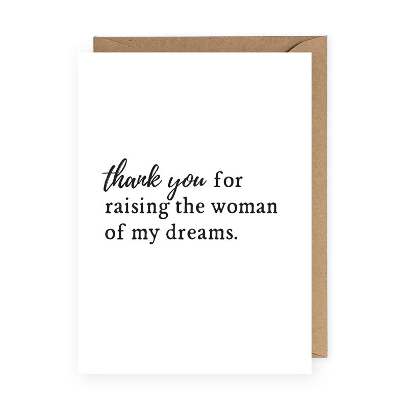 Woman of My Dreams Greeting Card