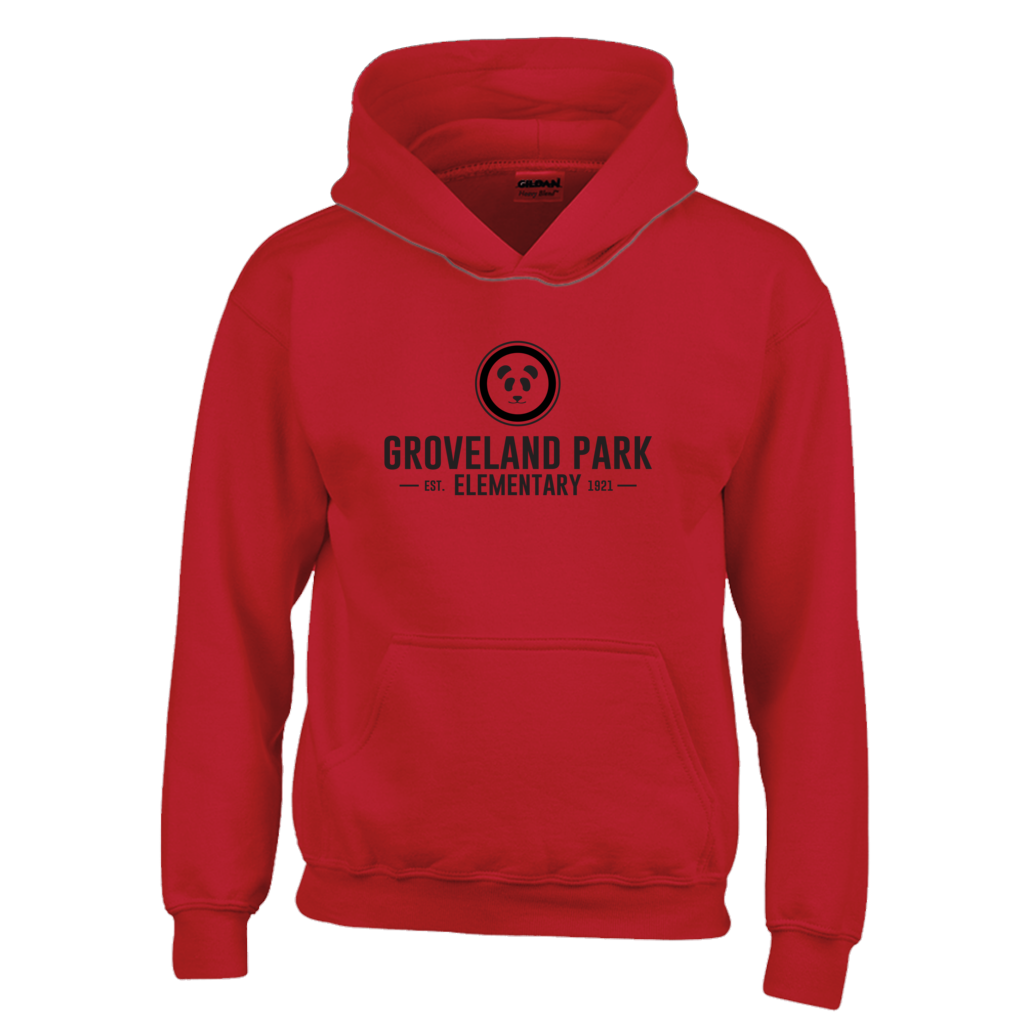 The Classic Logo :: Youth (6-12yrs) Red Hoodie