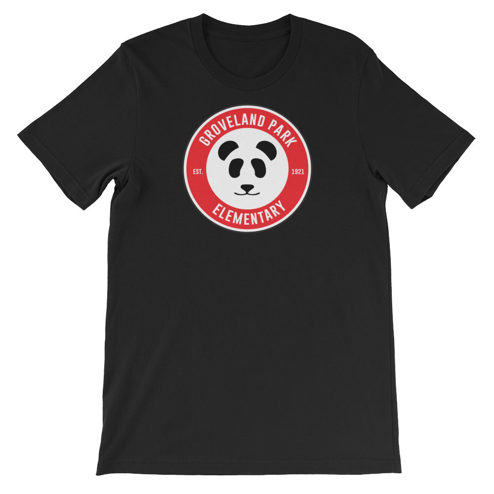 The Cirlce Logo :: Men's Short Sleeve Black Tee