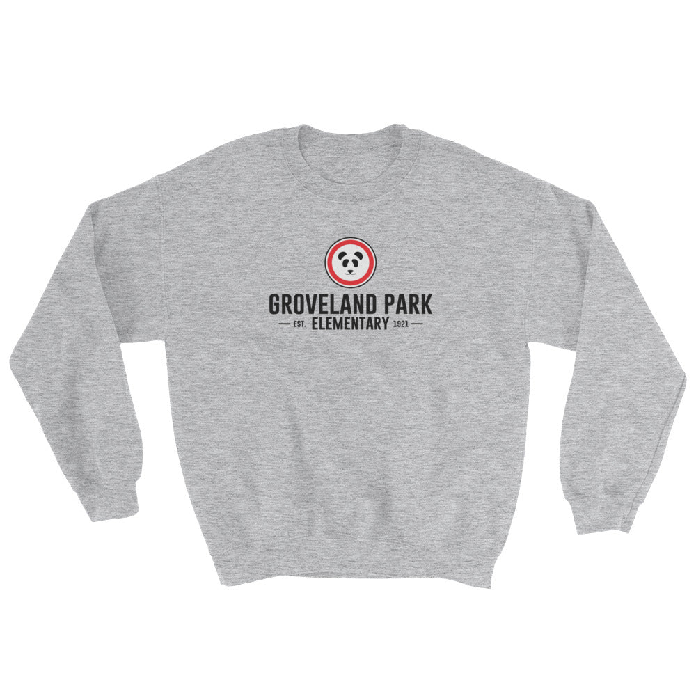 The Classic Logo :: Adult (Unisex) Grey Sweatshirt