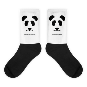 Big Panda Logo :: Adult (Unisex) Socks
