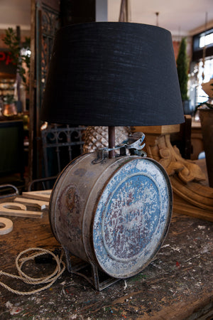 Industrial French Petrol Can Lamp