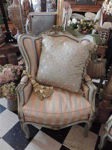Beautiful 1860's Italian Wingback chairs