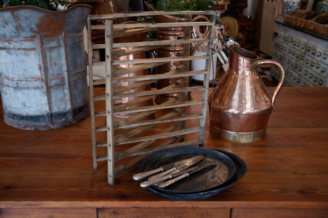 Vintage French Tart Rack