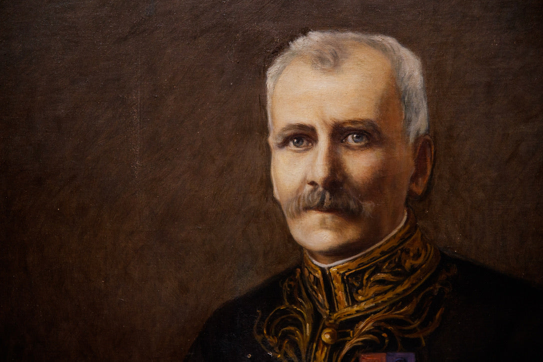 French Oil Canvas - French General
