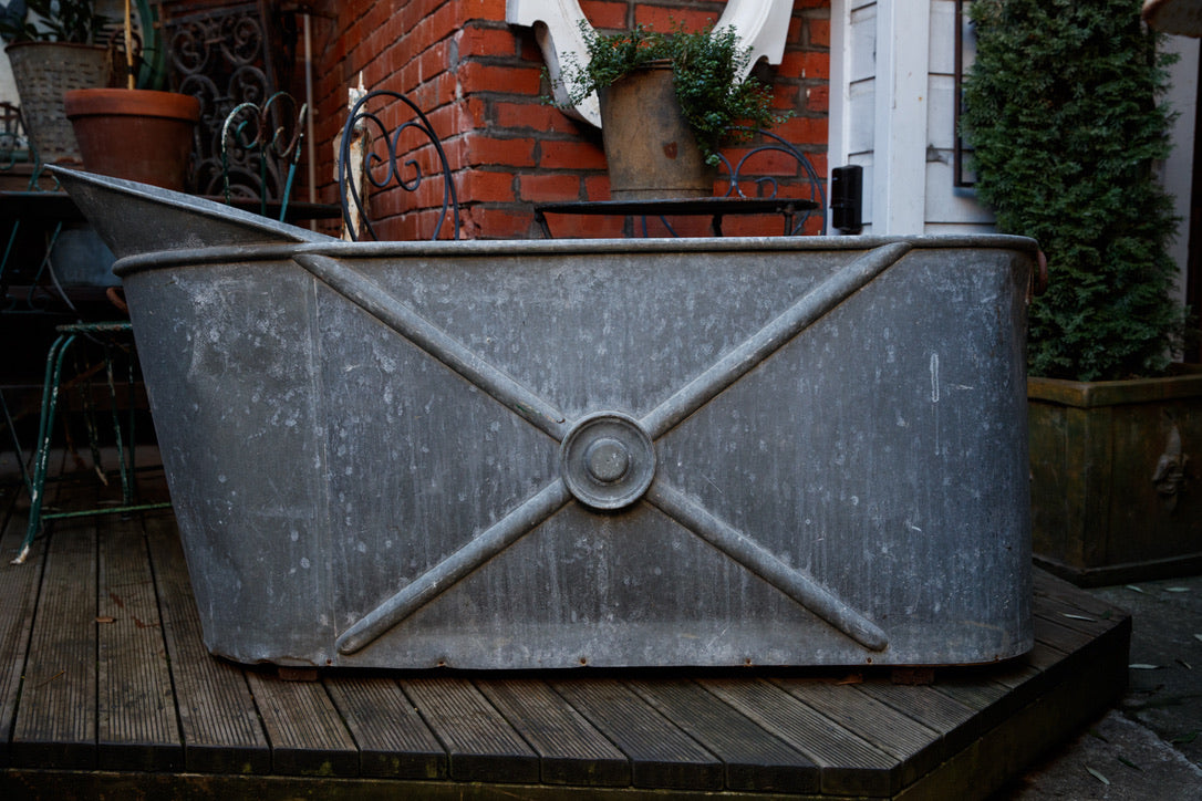 Original French Zinc Bath