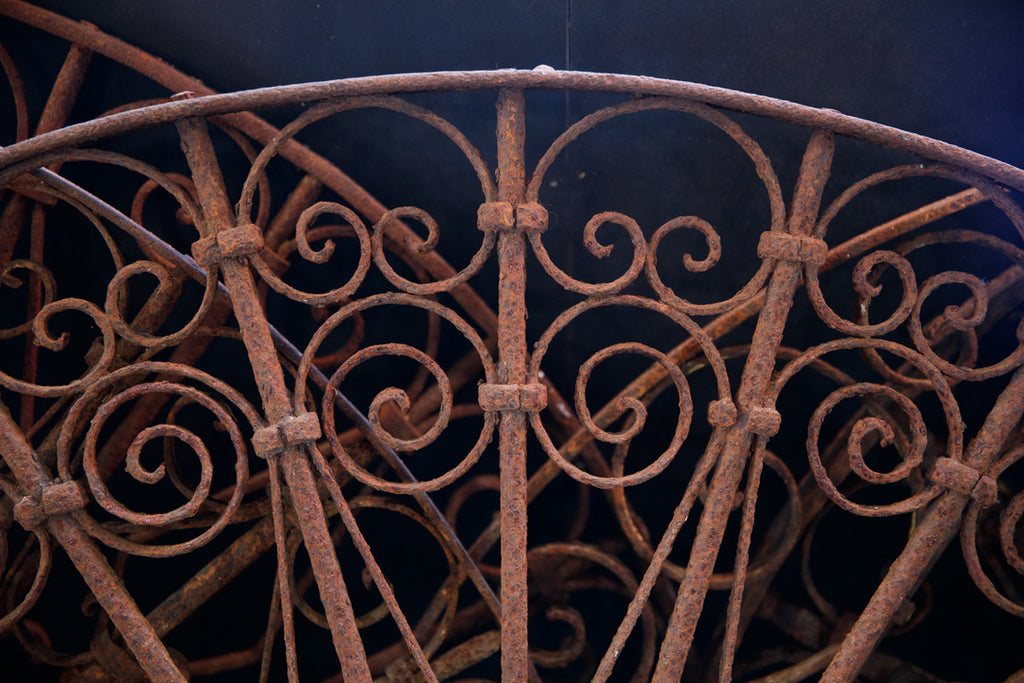 Wrought Iron Orangerie Grills