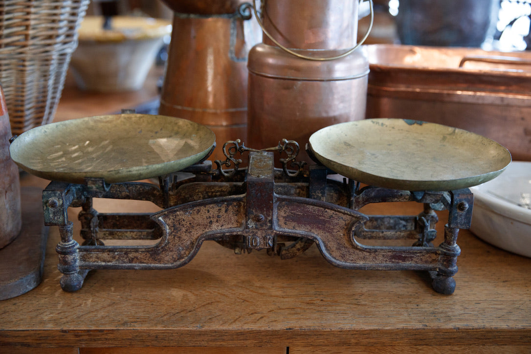 19th Century French Scales