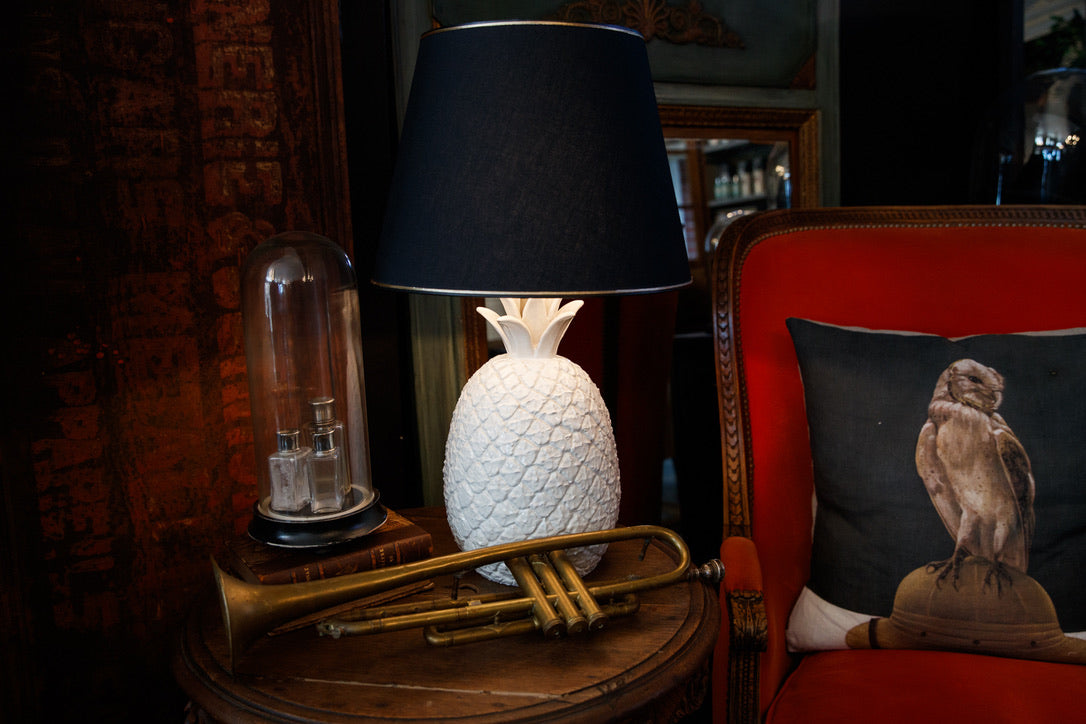 Vintage Pineapple Lamp
