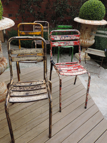 1950s French Industrial Chairs