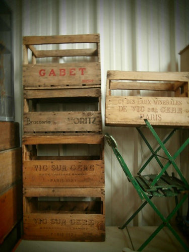French Wine Crates