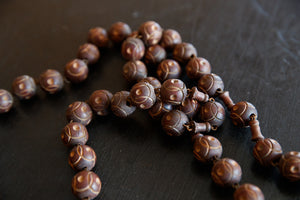 French Lourdes Wooden Rosary