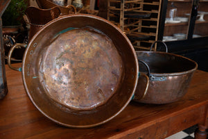 French Copper Chocolate Pans