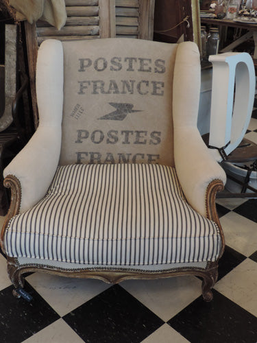 Large French Armchair