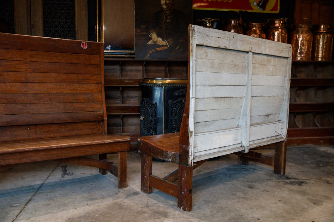 1930's Bistro Bench Seats