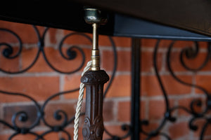 French Iron Balustrade Lamps