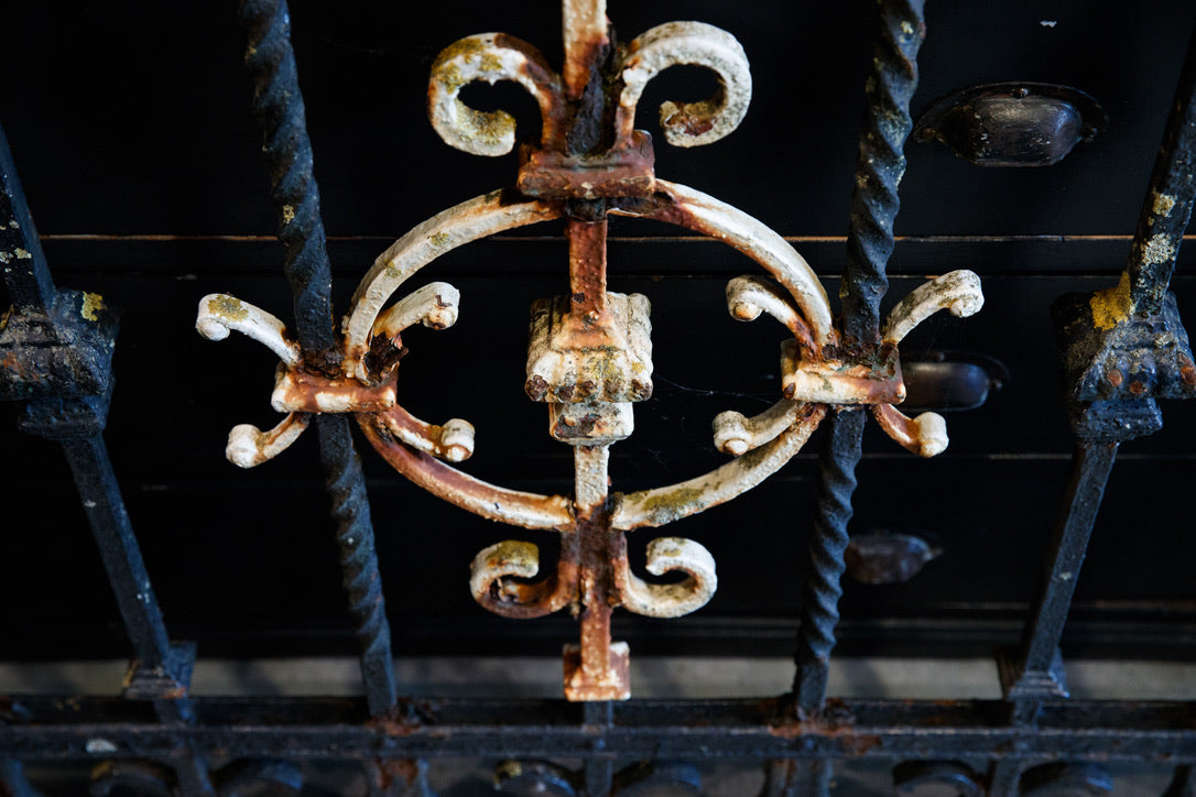 19th Century French Black Iron Gates