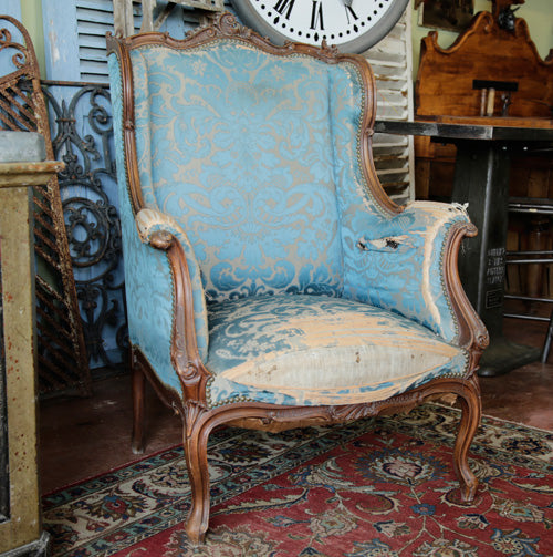 Louis the 15th wingback chair.