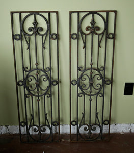 French Wrought Iron Grill