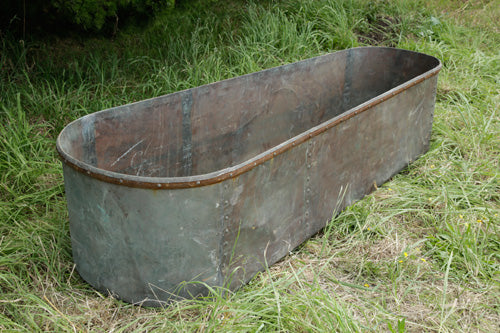 French Copper Bath