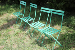 French Green Bistro Chairs