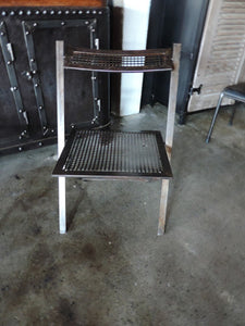 Industrial Folding Metal Chairs