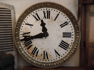 French 1850's Clock Face