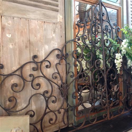 French Wrought Iron Grills