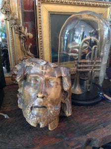 French Plaster - Christ Head