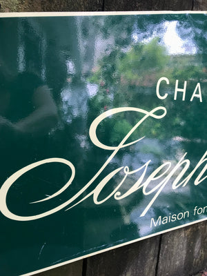 Joseph Perrier Champagne Sign