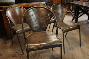 French Industrial Chairs