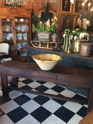 French Country Farm Console