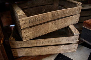 Original French Crates