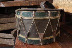 French 1940's  Brass Drum